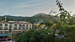 Ausblick vom Verandah Hotel in Ao Nang