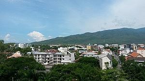 Ausblick vom Zimmer im Lotus Pang Suan Kaew Hotel, Chiang Mai