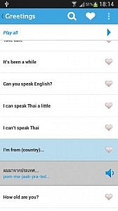 Learn Thai Lite Android App
