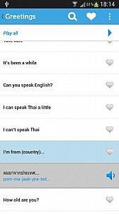 Learn Thai Lite Android App
