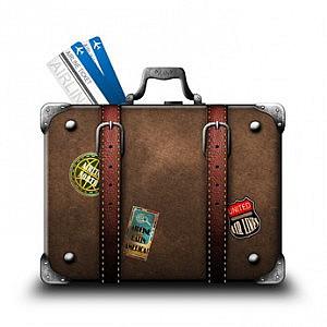 Koffer für Visarun nach Kambodscha