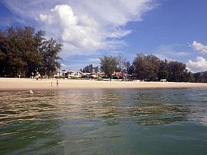 Blick auf den Bangtao Beach in Phuket