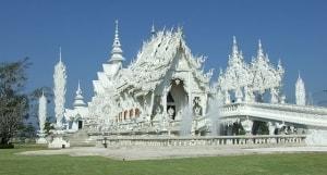 Wat Rong Khun - Weißer Tempel in Chiang Rai