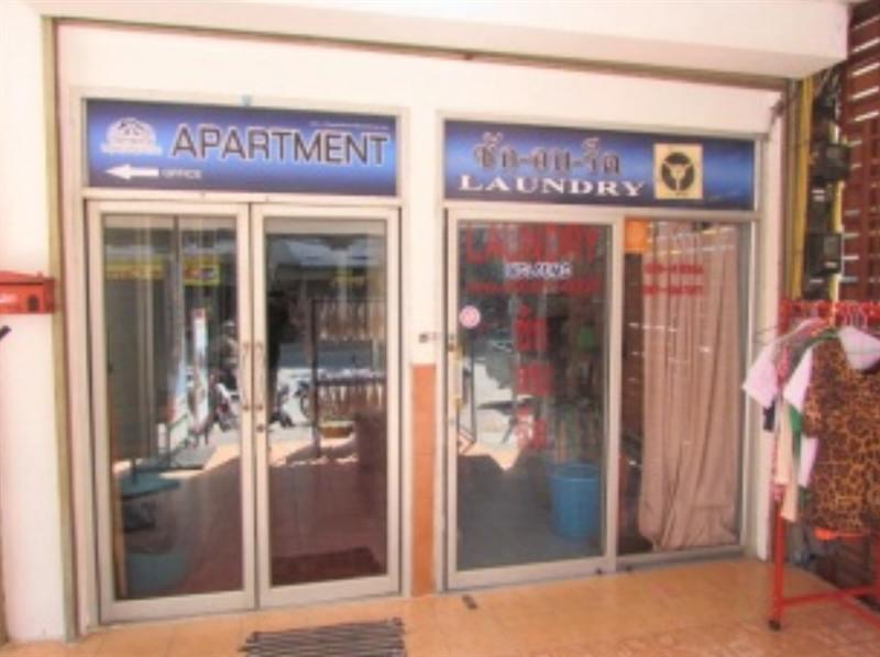 Eingang AG Apartments in Pattaya