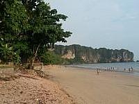 Erste Impressionen aus Ao Nang (Krabi)