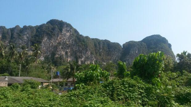 Ao Nang (Krabi) Kreidefelsen