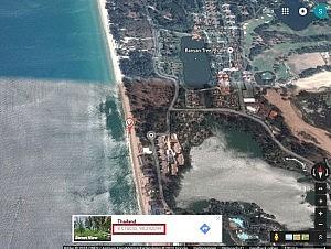Bangtao Beach Karte (Phuket)