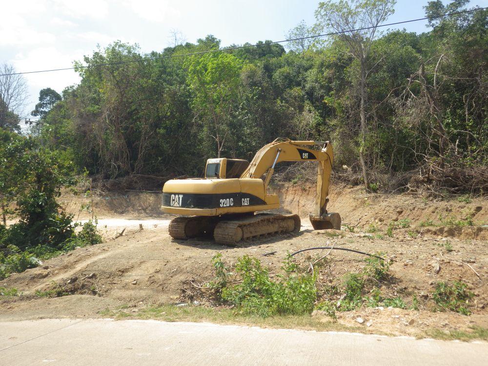 Baustelle auf der Insel Koh Yao Yai