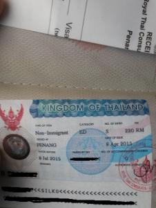 Bildungsvisum für Thailand