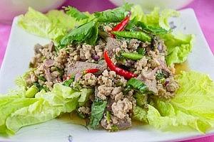 Original Rezept aus Thailand: Laa Gai