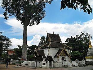 Der Lak Mueang Tempel in Chiang Mai