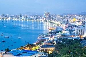 Pattaya Beach - Abenddämmerung