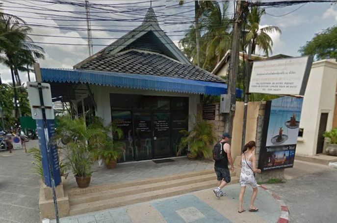 Das Immigration Office in Patong