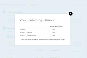 Billig mit Skype nach Thailand telefonieren