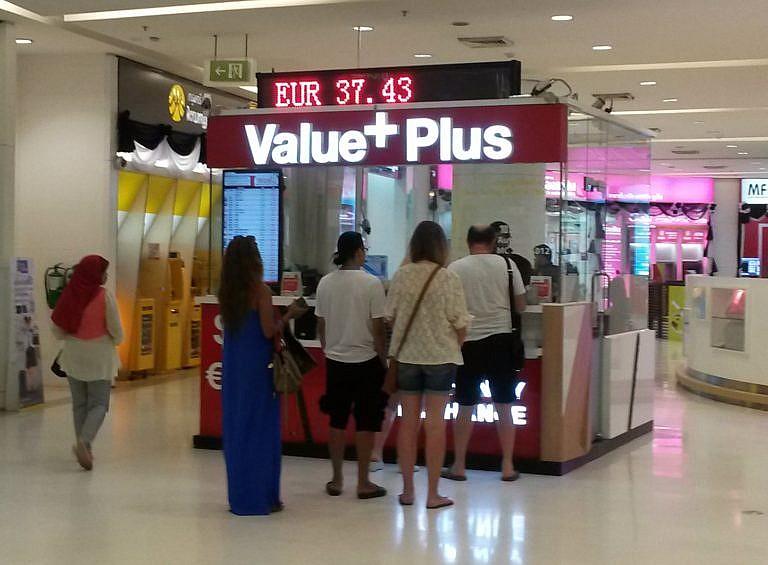 Geld wechseln in thailand der banken vergleich