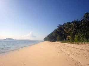 Einsamer Strand auf Koh Yao Yai